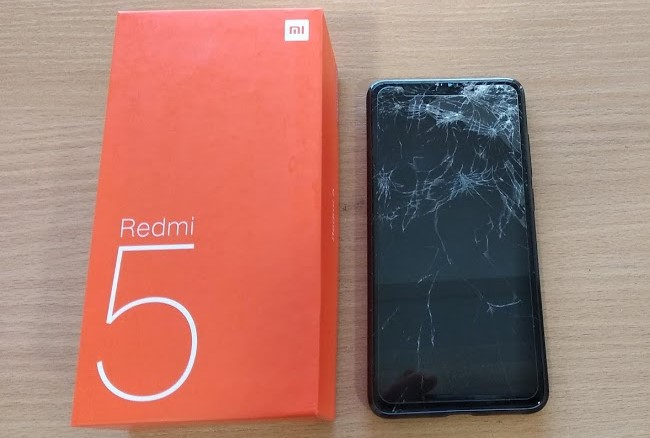 смяна на дисплей на Xiaomi Redmi 5